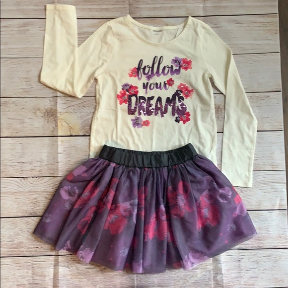 Gymboree NWT Ivory BUTTERFLY GIRL FLORAL DRESS TIGHTS 0 3 6 9 12 Months